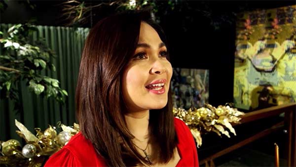 Judy Ann Santos in ABS-CBN Christmas station ID 2020