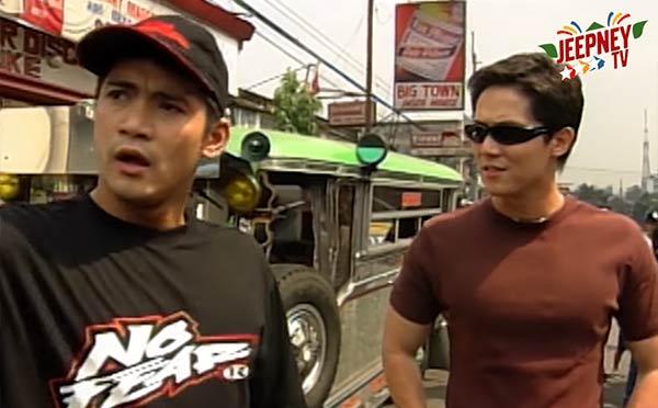 Robin Padilla and Rustom Padilla