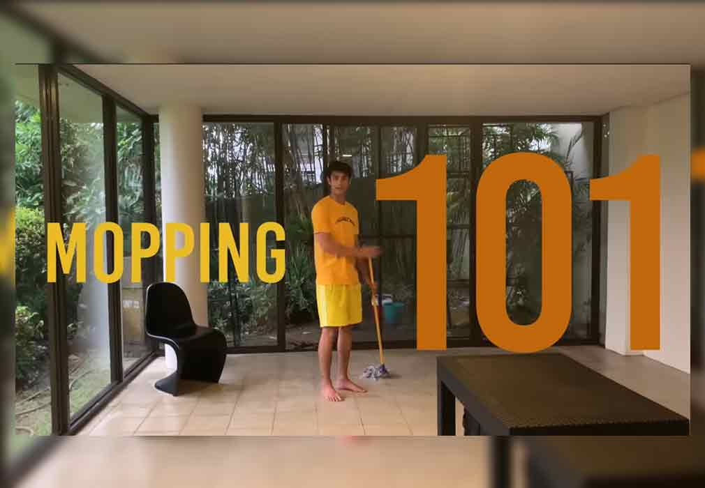Donny Pangilinan renovates basement space at home into his own mancave