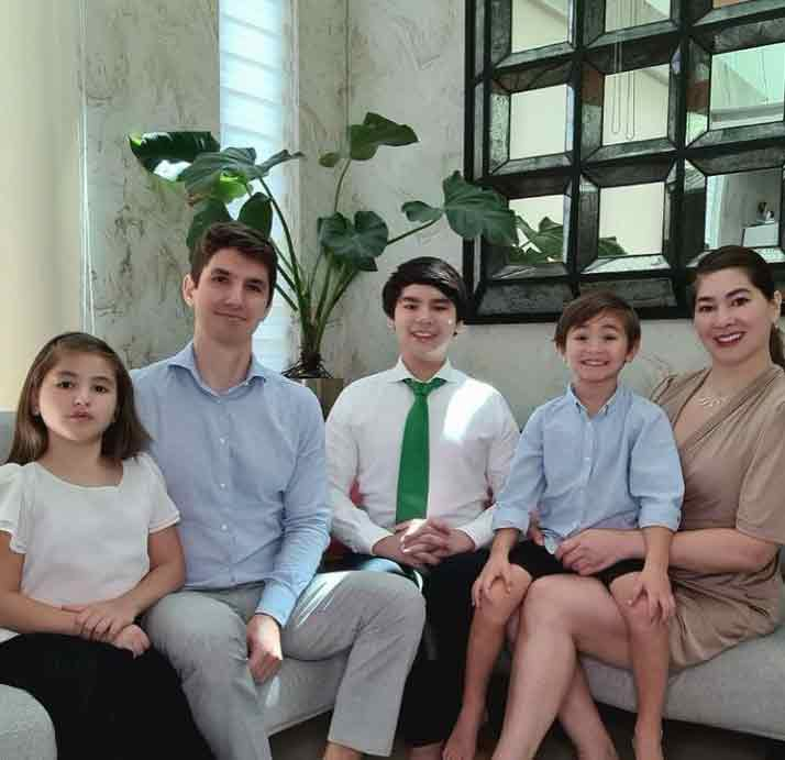 Jackie Forster Family: Husband Michael Franken, daughter Caleigh, sons Jared and Yohan