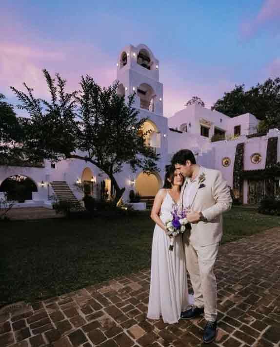 Ina Feleo gets married to Italian boyfriend