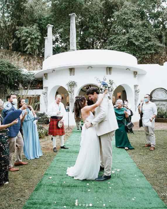 Ina Feleo weds Italian boyfriend in intimate wedding ceremony