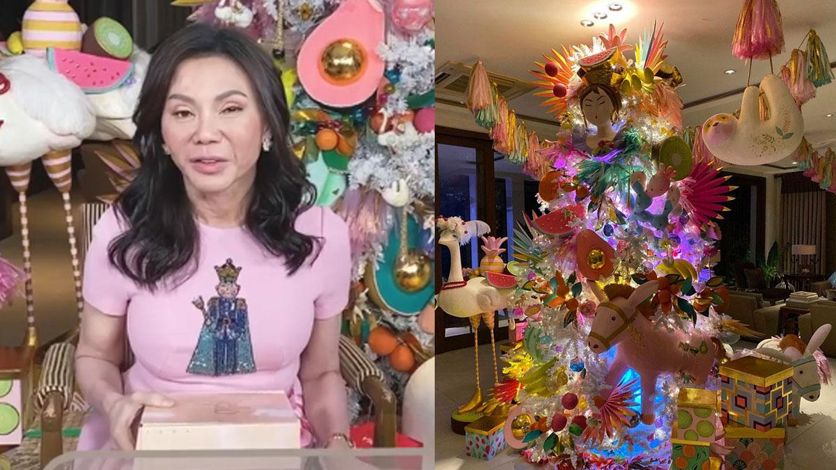 Vicki Belo Christmas tree