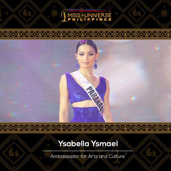 Ysabella Ysmael Ambassador for  Arts and Culture