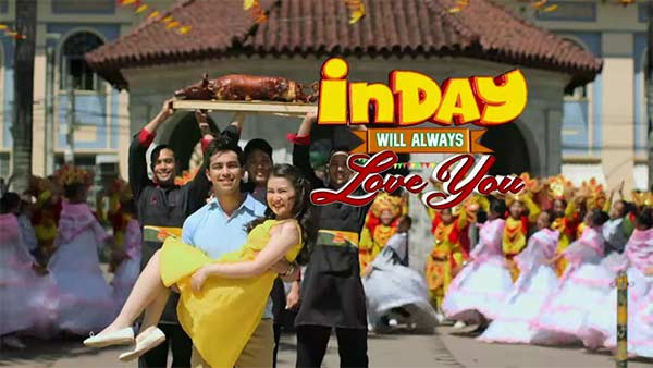 Derrick Monasterio and Barbie Forteza in Inday Will Always Love You