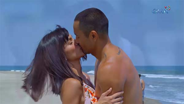 Andrea Torres and Derek Ramsay in The Better Woman