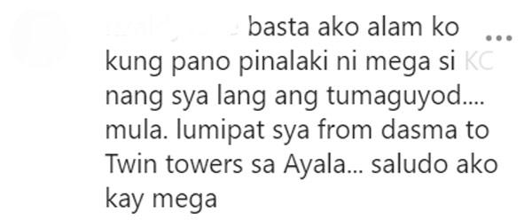 Netizen comment Sharon Cuneta