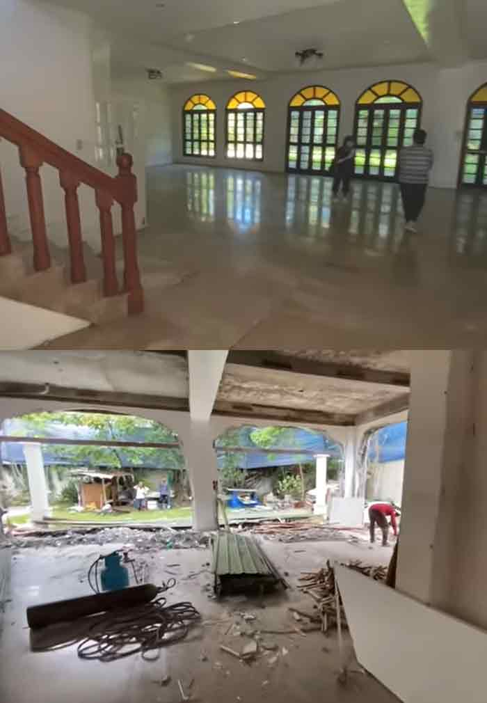 Alex Gonzaga A Look at her Future home with Mikee Morada