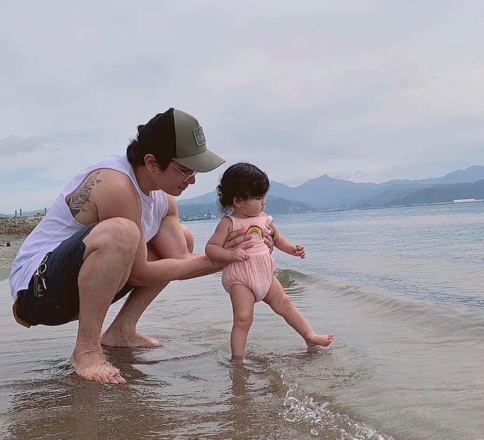 JC Santos daughter