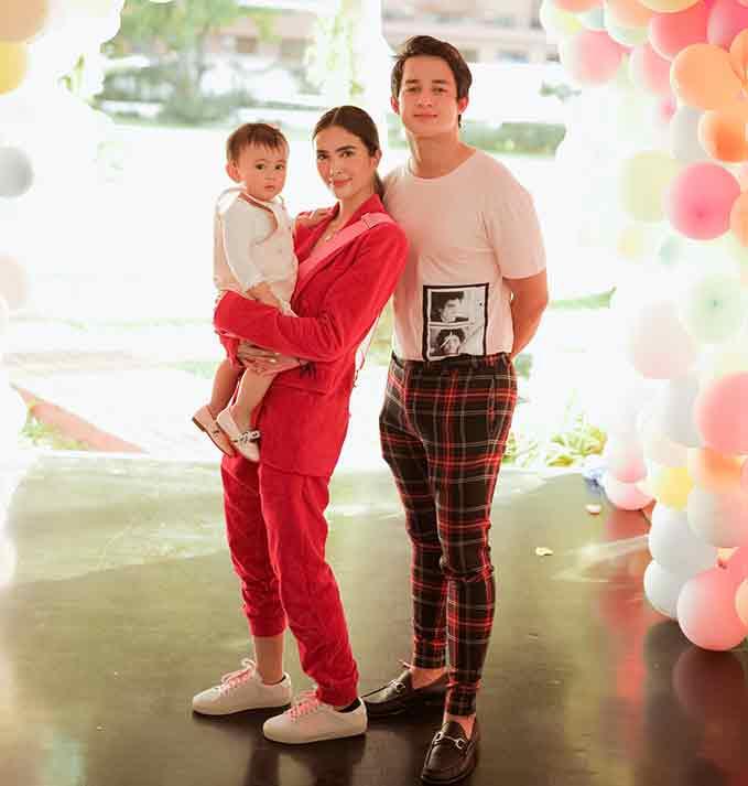 Happy celebrity news 2020: Sofia Andres and Daniel Miranda celebrate first birthday of daughter Zoe