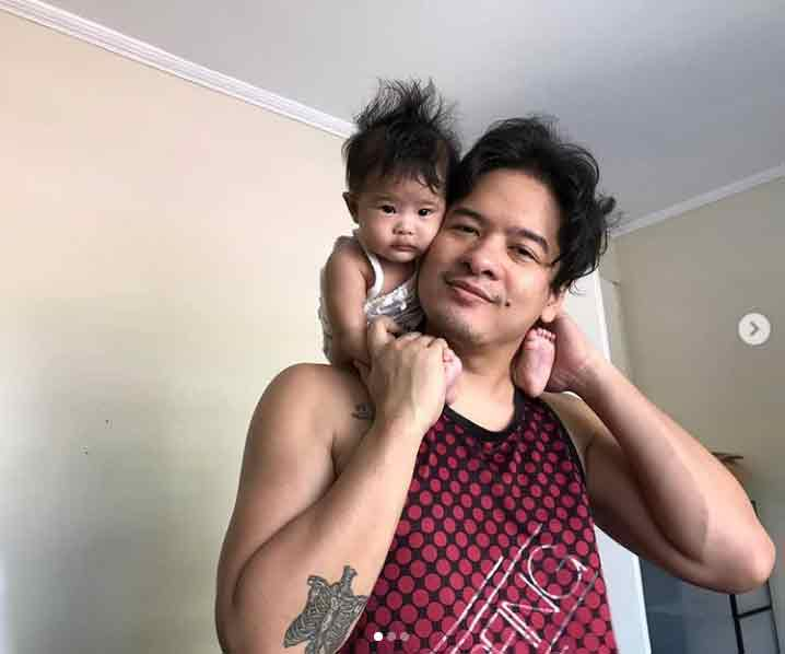 Happy celebrity news 2020: actor Alex Medina is now a father to daughter Allie