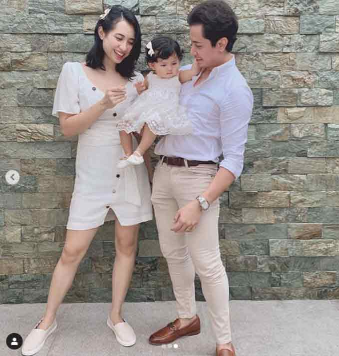 Happy celebrity news 2020: JC Santos now married and is a dad to daughter River