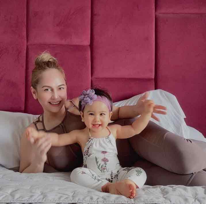 Happy celebrity news 2020: Regine Tolentino gives birth to third daughter Rosie