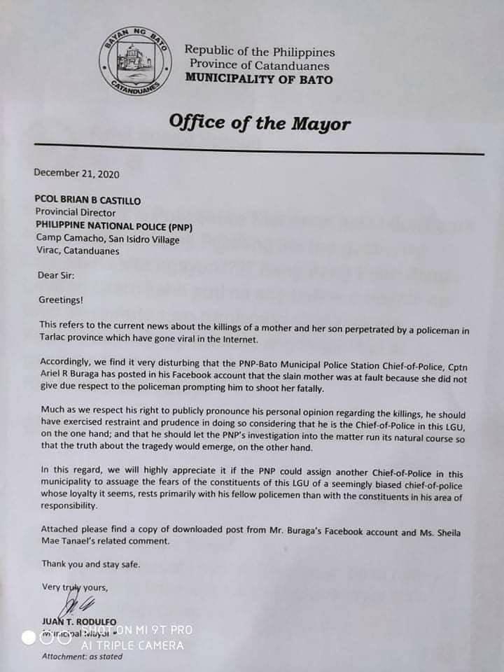 Pahayag ng police chief mula sa Catanduanes tungkol sa pagbibigay respeto sa mga pulis, lalong nagpasilakbo sa damdamin ng mga Pinoy | PEP.ph