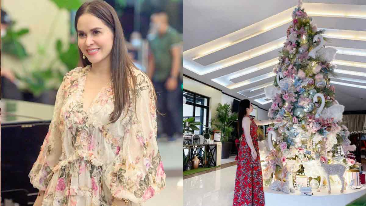 Jinkee Pacquiao Christmas Tree 2020