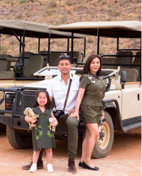 vicki belo family africa
