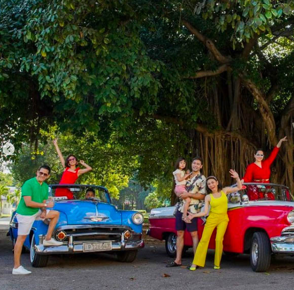 Vicki Bel family Cuba