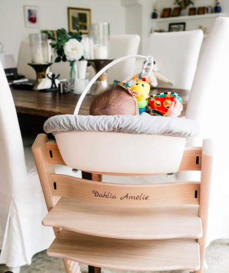 Dahlia Heussaff baby chair