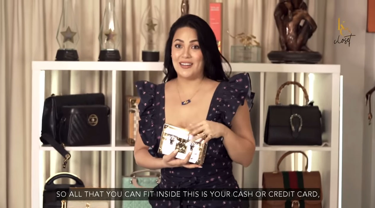 KC Concepcion, bag collection