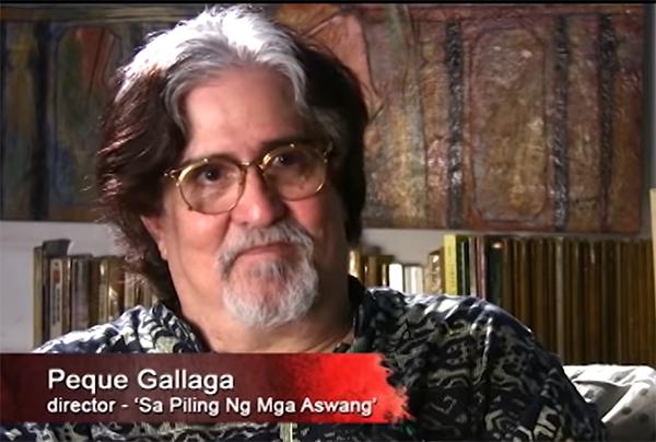 Peque Gallaga aswang documentary