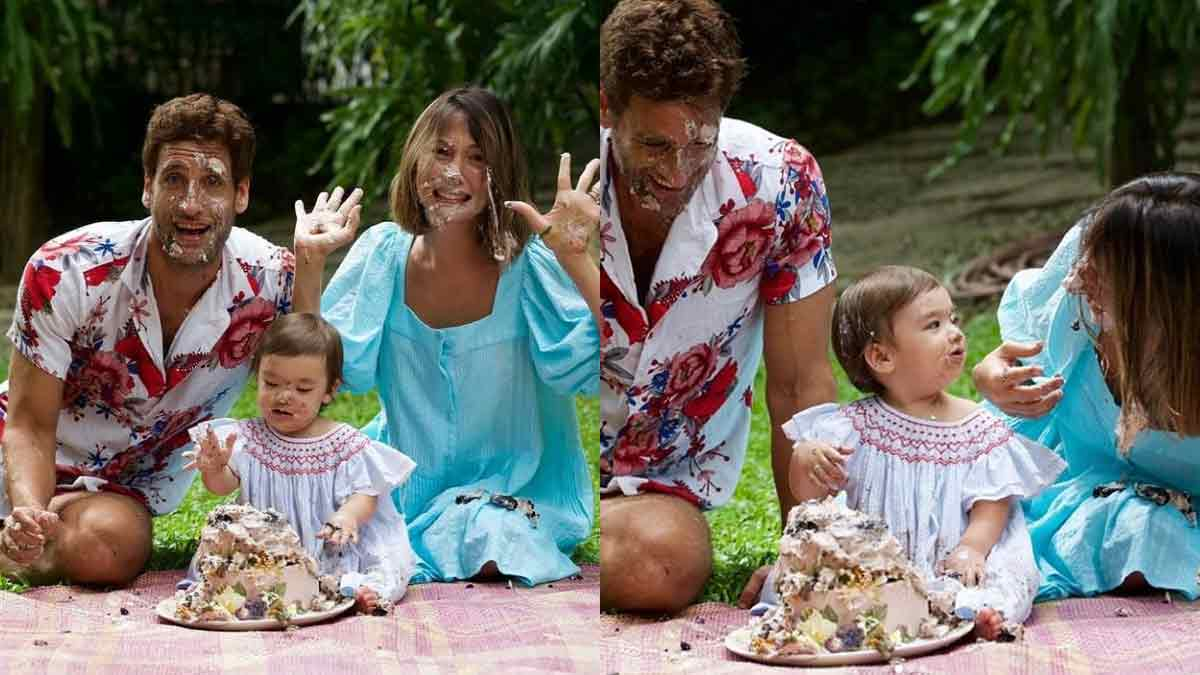 Solenn Heussaff and Nico Bolzico celebrate first birthday of daughter Thylane Bolzico,
