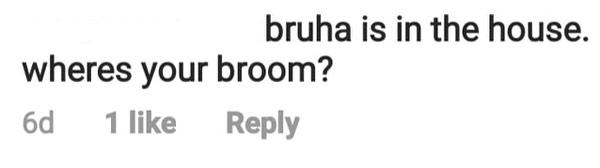 netizen comment calling korina a bruha