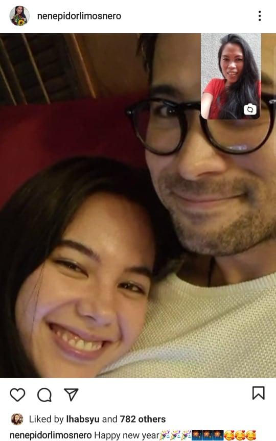 Sam PA Nene Limosnero posts photo of Catriona and Sam Milby together