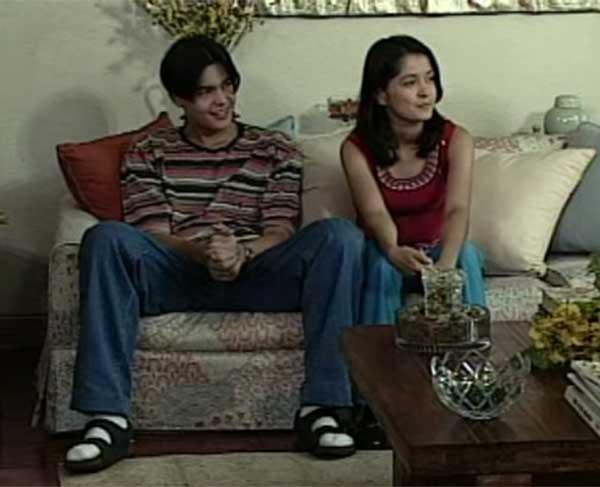 Dingdong Dantes and Kim delos Santos