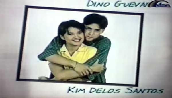 Dino Guevarra and Kim delos Santos