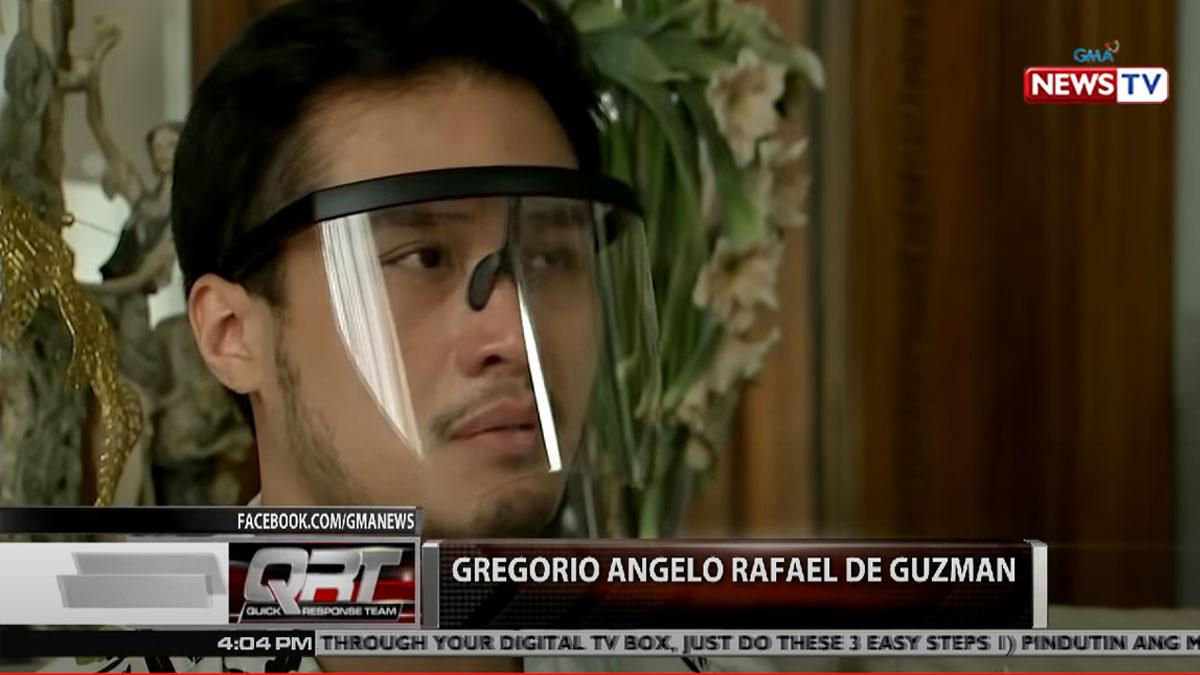 Gregorio Angelo Rafael de Guzman denies accusations