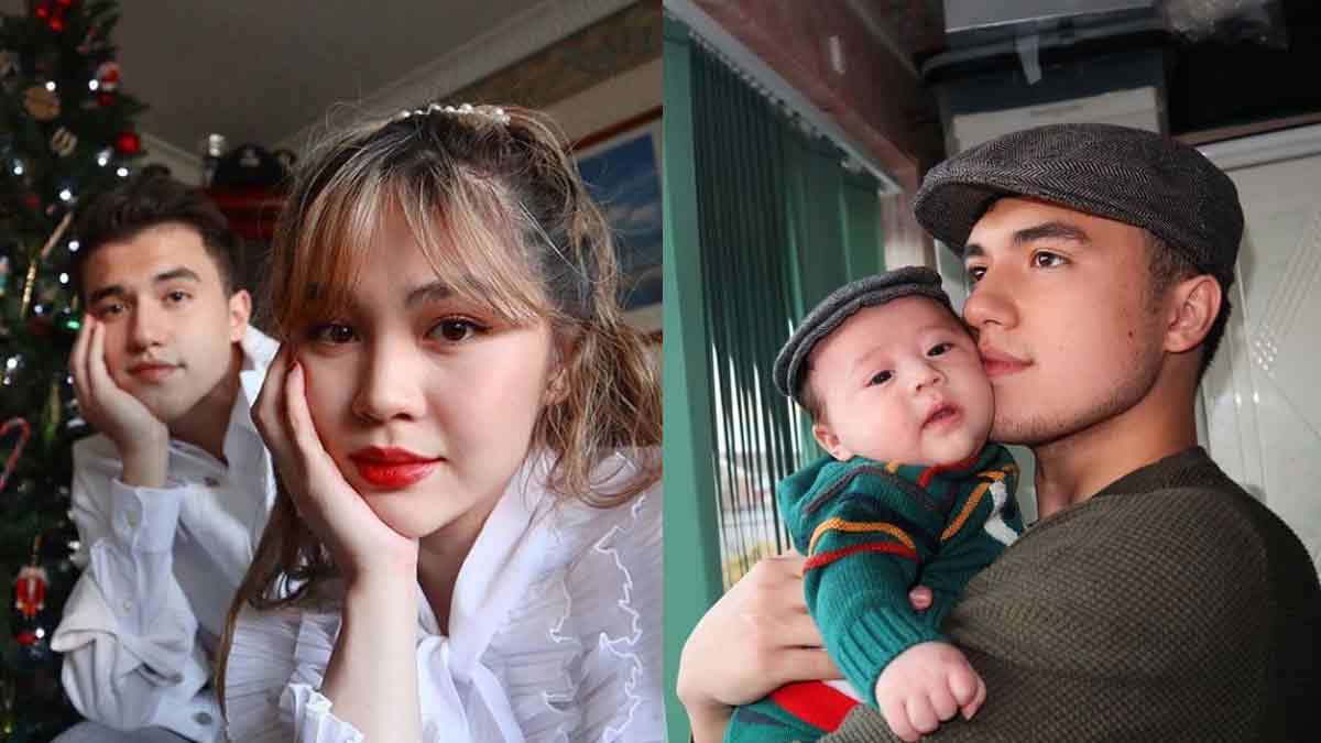 Janella Salvador and Markus Paterson baby Jude