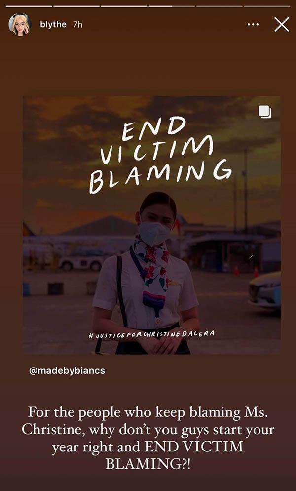 andrea brilliantes condemn victim blaming