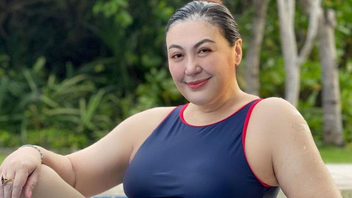 Sharon Cuneta swimsuit