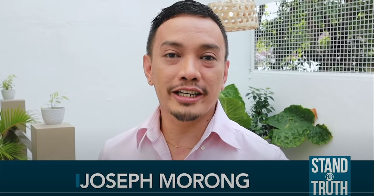 joseph morong as stand for truth anchor