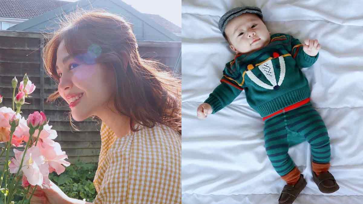 Janella Salvador as mother to son Jude