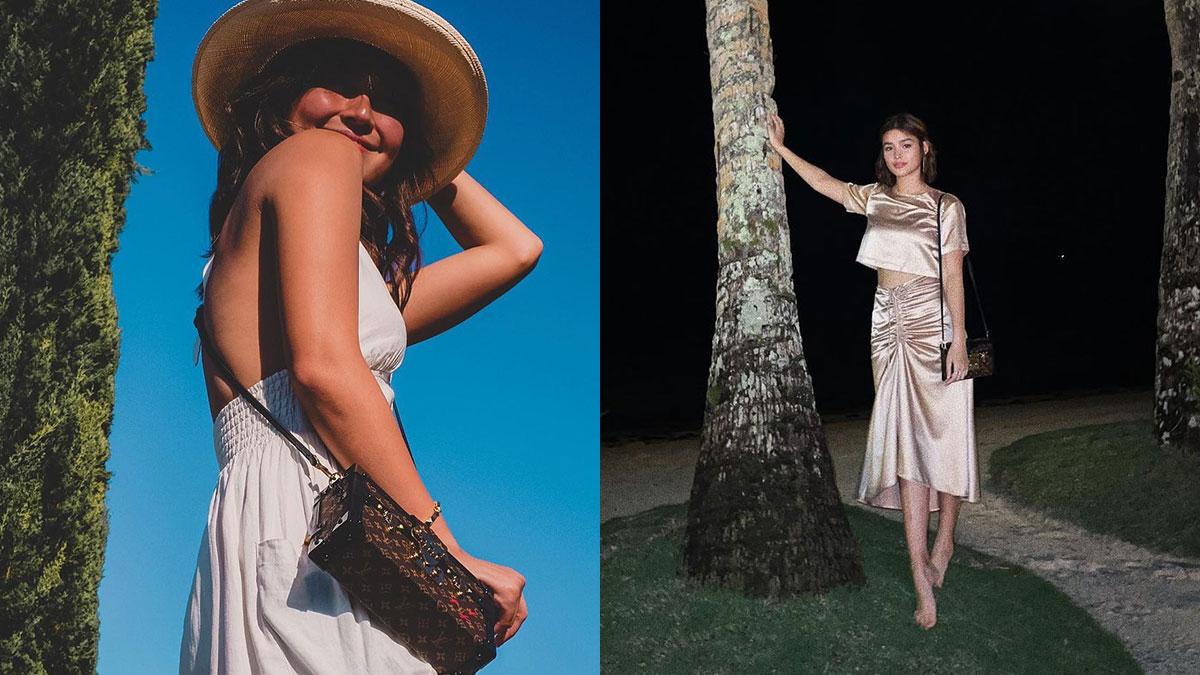 Kathryn Bernardo, Liza Soberano, Louis Vuitton Petite Malle
