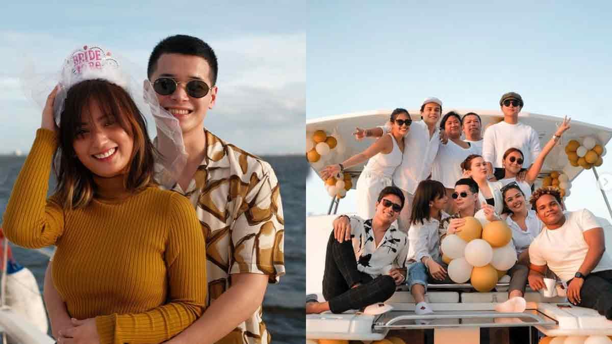 Patrick Sugui, Aeriel Garcia surprise party from friends