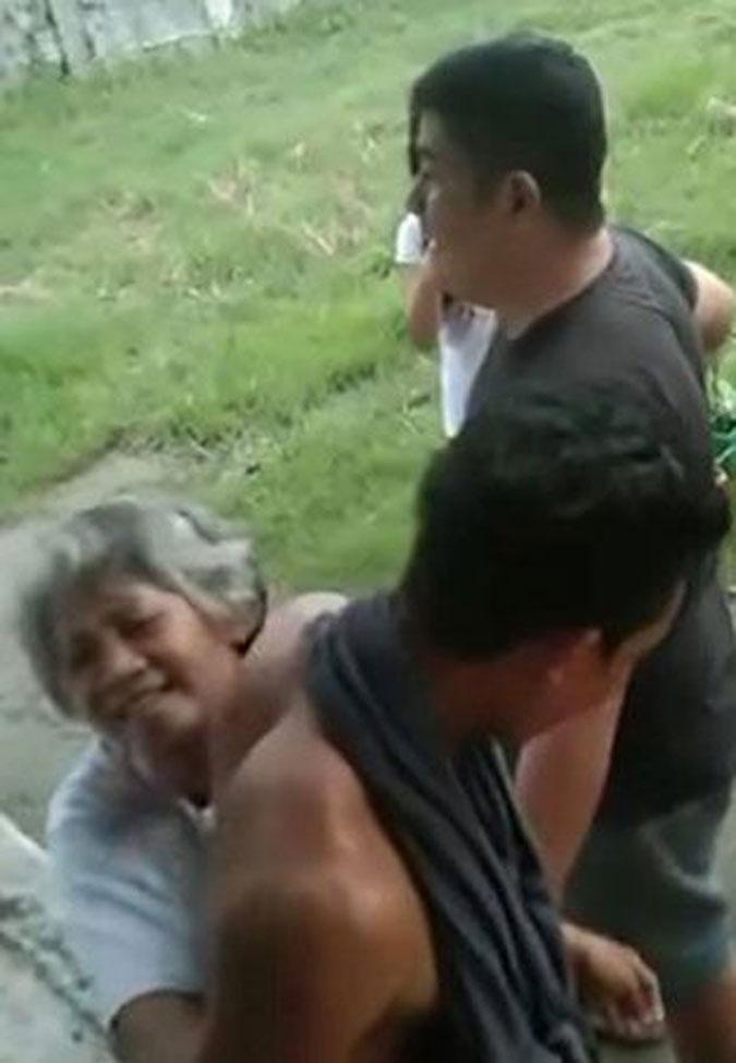 Jonel Nuezca brutally hits Sonya Gregorio