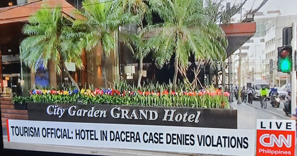 city garden grand hotel denies violating quarantine protocols