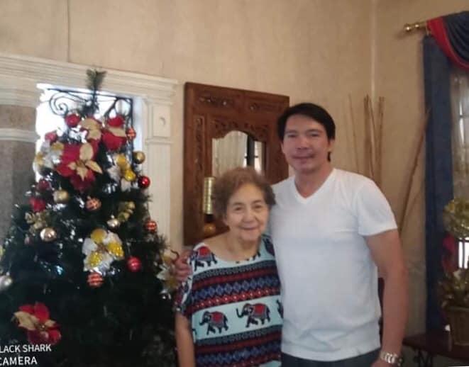 Royette Padilla with mom Eva Carino Padilla