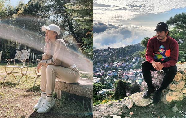 julia and gerald baguio hiking