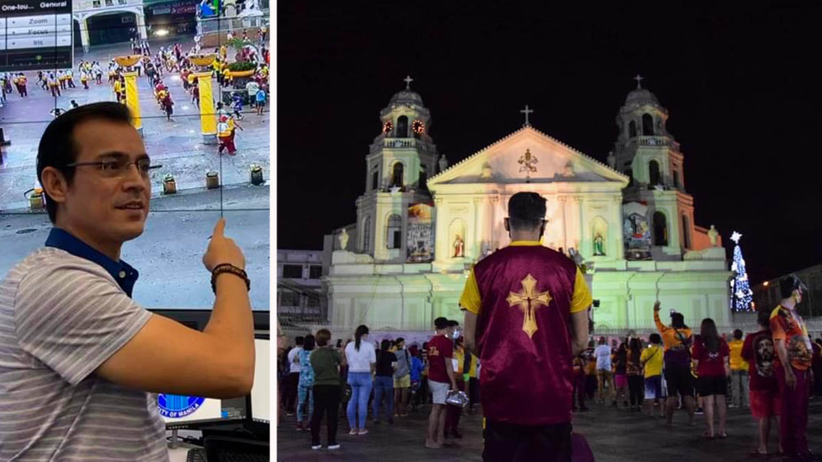 Mayor Isko Moreno, Feast of Black Nazarene 2021