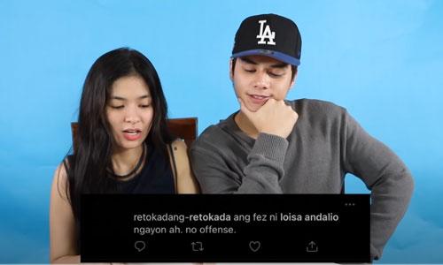 youtube screengrab: loisa andalio and ronnie alonte