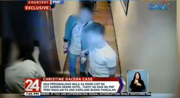 Respondents Christine Dacera case