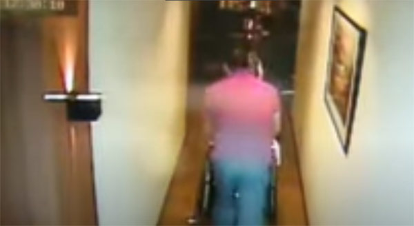 CCTV footage: Christine Dacera body in wheelchair