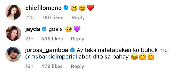 celebrity friends react on diego surprise for barbie