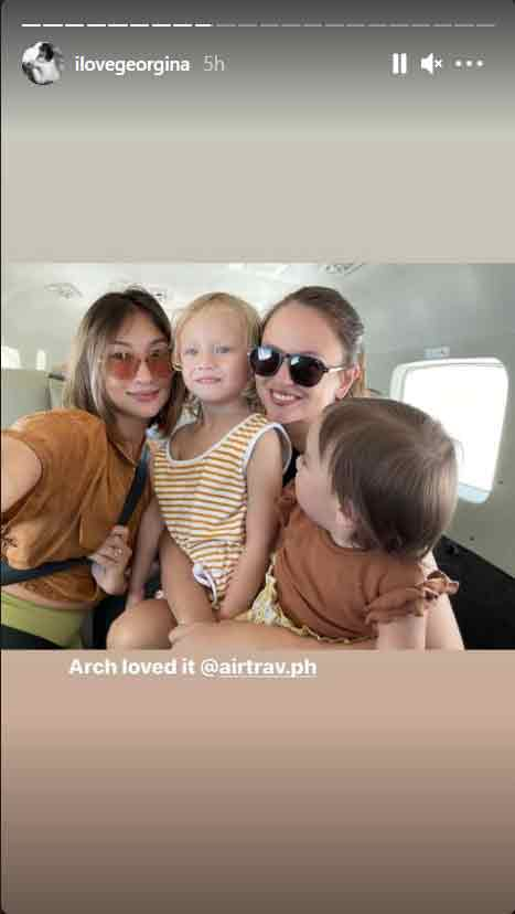 Georgina Wilson and Solenn Heussaff reunite; go on a vacation with kids