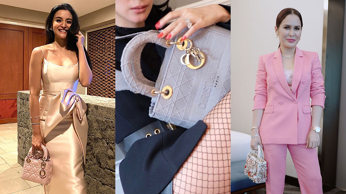 Kris Bernal, Heart Evangelista, Jinkee Pacquiao Lady Dior