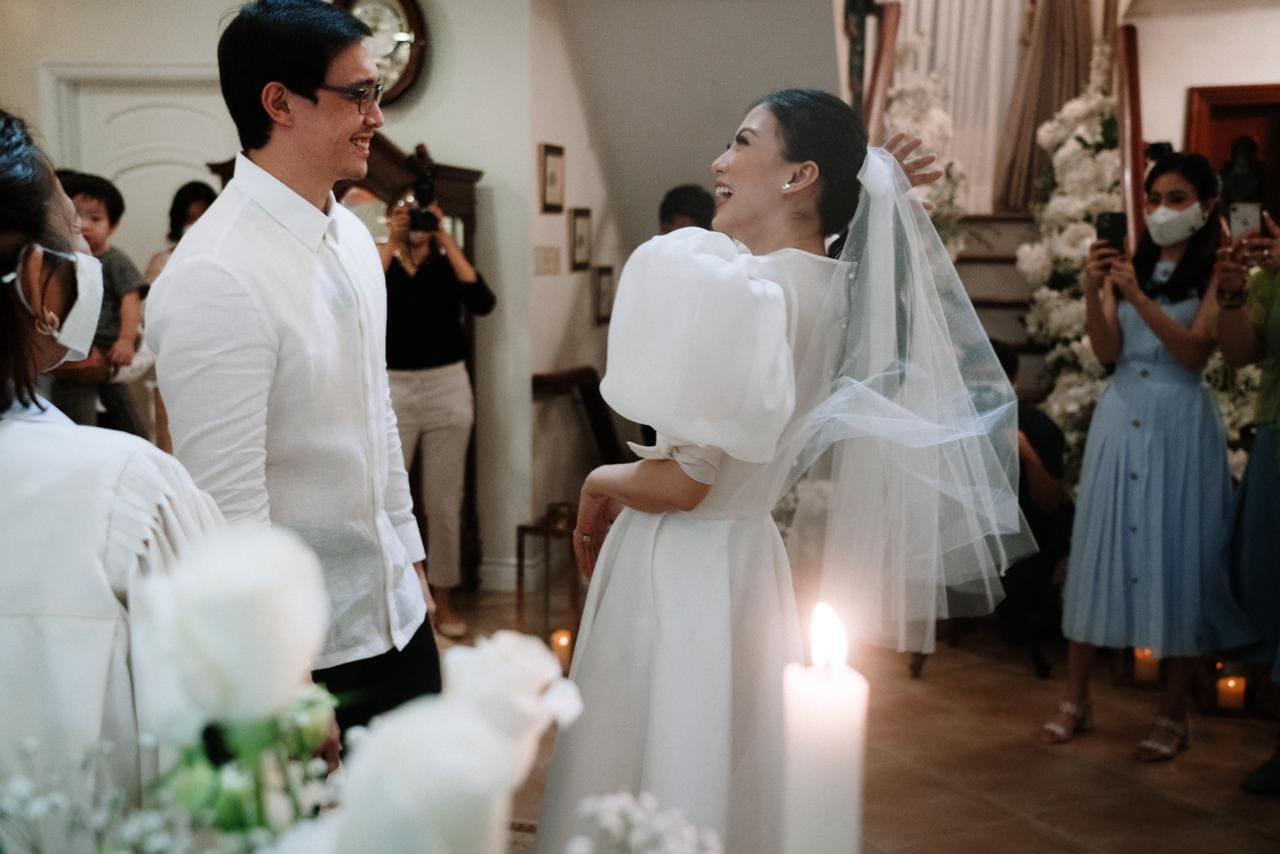 Alex Gonzaga, Mikee Morada wedding vows