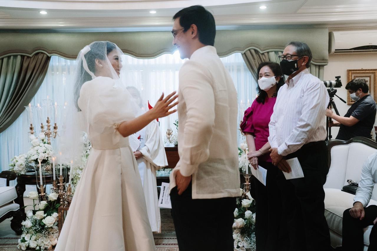 Alex Gonzaga, Mikee Morada civil wedding